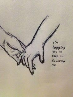 lyrics from 'haunting' by halsey. by @maya876876