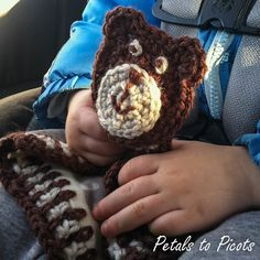 A fun little friend for you little one ... free photo tutorial and pattern!