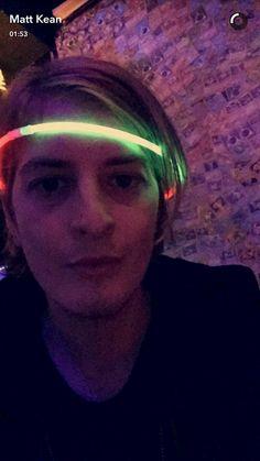 Matt Kean in snapchat