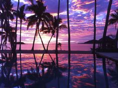 Sunset at Tropica Island Resort , Malolo, Fiji