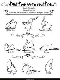 yogaposes8 Yoga poses nighttime