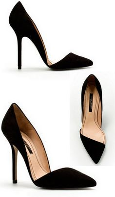 Black shoes:: GORGEOUS