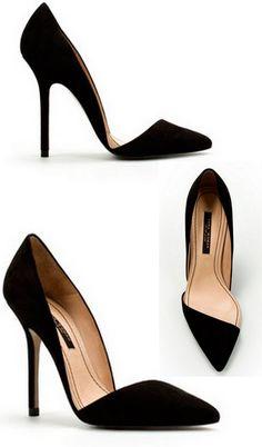Black shoes:: GORGEOUS