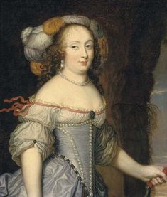 1670s Françoise Athénais de Rochechouart de Mortemart, Marquise de Montespan by circle of Pierre Mignard