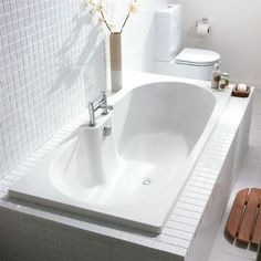Toronto Double Ended Bath - perfect for bathrooms where you want the bath to…
