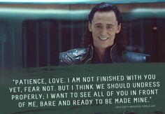 Yes, My Master.  Loki's naughty whispers.