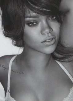 Rihanna- I love her chameleon take on fashion. So pretty without tons of makeup. I love how real she tries to stay despite her celebrity
