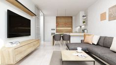 Dobryinterier.sk Bratislava, Flat Screen, Couch, Living Room, Wall, Furniture, Home Decor, Tv, Kitchen