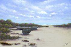 Solitude on the beach by Joe Sambataro