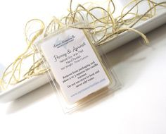 Soy Tarts Honey and Apricot scented Wax Melts by curiouscarrie