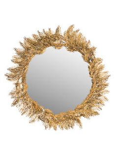 Shana Feather Mirror from Mirrors