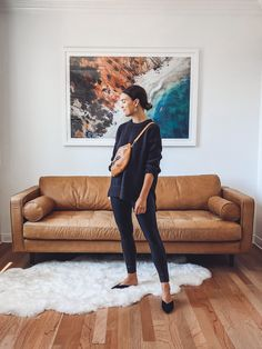 6 Comfortable Ways to Wear Faux Leather Spanx This Fall