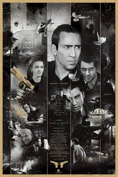 A brilliant poster – Face/Off: Saints and Sinners – by Vlad Rodriguez. You can order it here. Via XombieDirge Action Movie Poster, Movie Poster Art, Poster On, Films Cinema, Cinema Posters, Film Posters, Best Action Movies, Great Movies, Face Off
