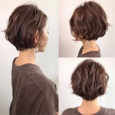 65 Best Messy Short Hairstyles Japanese Japanese hairstyle design has always had its characteristics. So today we have collected 65 kinds of Japanese Messy short hairstyles idea. Let's look for amazing hair inspiration. Bob Hairstyles For Thick, Cool Hairstyles, Japanese Hairstyles, Japanese Short Hairstyle, Wedding Hairstyles, Hairstyle Ideas, Short Wavy Haircuts, Brown Hairstyles, Short Hairstyles For Thick Hair