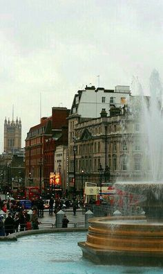 Trafalgars Square. Londres