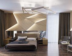 Visualization of 2 bedrooms in contemporary style Contemporary Style, Ceiling Lights, Design Bedroom, Interior Design, Home Decor, Nest Design, Decoration Home, Home Interior Design, Room Decor