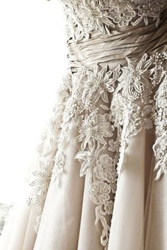 Vintage Lace Detailing . . . This is absolutely gorgeous!