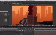 how to create cartoon smoke after effects