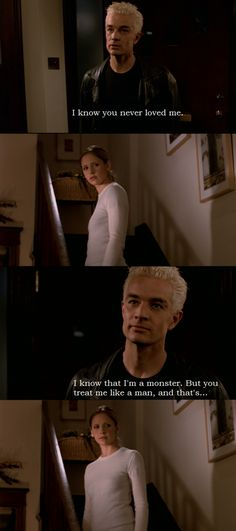 I'm conflicted re: Buffy & Spike. I DEFINITELY love him better than Angel (who's an idiot when he DOES have a soul), but I also think that she & Angel were soulmates. Spike deserves someone who REALLY loves him. Real Vampires, Cordelia Chase, Sarah Michelle Gellar, Joss Whedon, Buffy Summers, Spike From Buffy, Buffy The Vampire Slayer, Nerd, Angel