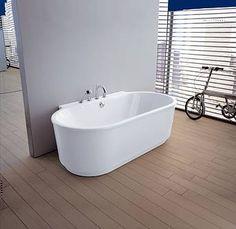 Ванны и поддоны Hoesch: Овальные и круглые #hogart_art #interiordesign#design #apartment#house#bathroom #bathtub#hoesch#shower #sink#bathroom#bigbath
