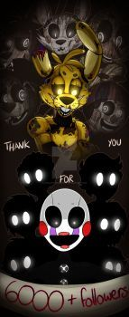 Five Nights At Freddy's 3: 6k by AnimatronicBunny