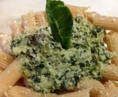 Rezept Penne mit Mangoldsauce von aew - Rezept der Kategorie Hauptgerichte mit Gemüse