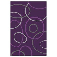 Found it at Wayfair - Capri Vida Geometric Purple Rug