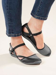 Dual personality Teva® Northwater Sandals can switch from Mary Jane to slip on. $79
