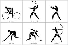 Olympic Games Pictograms.