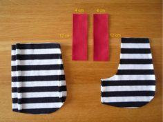 Dámské úpletové šaty s pružným pasem a kapsami | Pot Holders, Tutorials, Bags Sewing, Sewing Patterns, Hot Pads, Potholders, Wizards