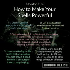 Hoodoo - How To Make Your Spells Powerful Spells For Beginners, Witchcraft For Beginners, Hoodoo Spells, Magick Spells, Healing Spells, Luck Spells, Voodoo Hoodoo, Wiccan Witch, Witch Spells Real