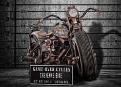 The Recidivist Tattooed Motorcycle - Men's Gear