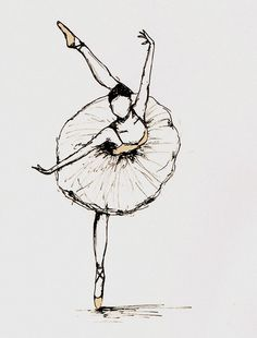 ballerina-can't decide if I want to make Payton's room a ballerina room...can anyone sketch this?
