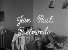 """CHARLOTTE ET SON JULES"" JEAN-LUC GODARD (1961)"