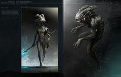 reptile off earther, patricio (ninosboombox ) razo on ArtStation at https://www.artstation.com/artwork/Z5A6m