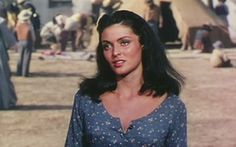 Suzan Ball as Avis in War Arrow 1953 <3