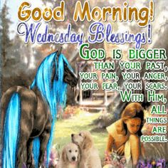 Good Morning Wednesday Blessings Quote