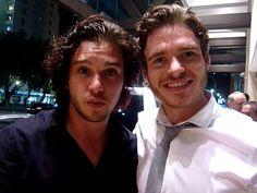 "Stark and Snow selfie!! | ""Game Of Thrones"" Actors Doing Normal Stuff Is SoWeird"