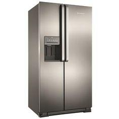 Refrigerador Brastemp Side By BRS62CR Side Ativ...