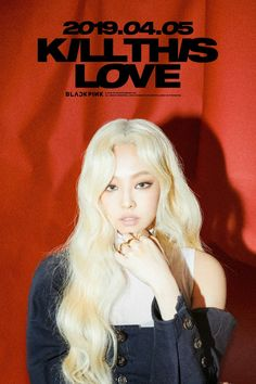 BLACKPINK Jennie is a blonde girl in new teaser image for 'Kill This Love'! BLACKPINK will return with a mini album 'Kill This Love' on April Are you living this picture of Jennie in blonde hair? Blackpink Jennie, Kpop Girl Groups, Korean Girl Groups, Kpop Girls, Divas, Yg Entertainment, K Pop, Kpop Wallpaper, Rapper