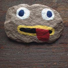 If you know what this rock is from you're my new bff<3 #thatsarockfact #greg #wirt #istoleit #paintingrocks #cute #rock #imanelephant #heywirtcheckthisout #youhavebeautifuleyes #otgw #otgwwirt #otgwgreg #bestfriend Reposted Via @_clairepandabear_says_rawr_