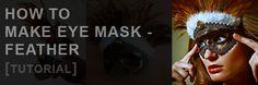 How to Make eye mask – Feather [Tutorial] by Dimitar Hristov (54ka)