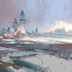 Need some inspiration for the weekend? Check the beautiful concepts art made by Theo Prins, concept artist at ArenaNet See Also on IT'S ART : Guild Wars 2 Guild Wars 2, Environment Concept Art, Environment Design, Fantasy Landscape, Fantasy Art, Cg Artist, Matte Painting, Visual Development, Environmental Art