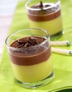 Simple Food: Avocado pudding mocha sauce