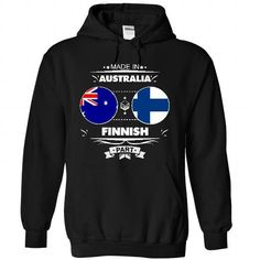 Made in Australia with FINNISH part T Shirts, Hoodie. Shopping Online Now ==►…