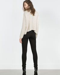 Image 5 of LOW-CUT JEANS from Zara
