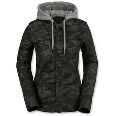 Volcom - Circle Flannel Jacket - Women's