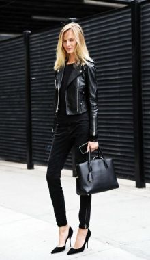 How To Effectively Dress Like A New Yorker Rule 2: Black Is The...