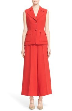 ESCADA Wool Crepe Vest available at #Nordstrom