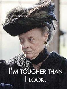 Downton Abbeys Lady Violet